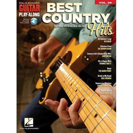 Best Country Hits : Guitar Play-Along Volume 96 (Hit Me With Your Best Shot Guitar Tab)