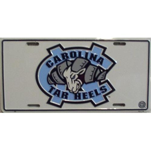 LP - 897 North Carolina Tarheels License Plate - 440