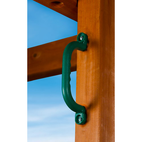 Gorilla Playsets Safety Handles, Set of 2, Green
