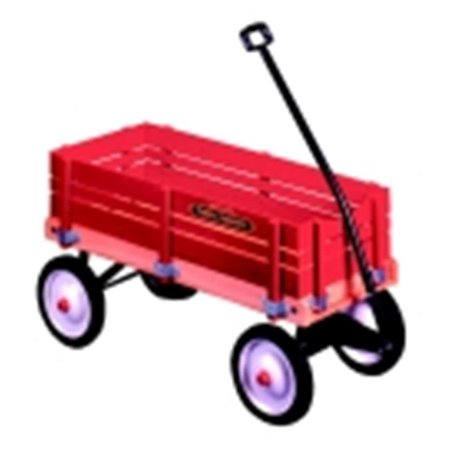 Radio Flyer Town And Country Wagon, 36 x 16.5 x 9.5 (Radio Flyer Town And Country Wagon Decals)