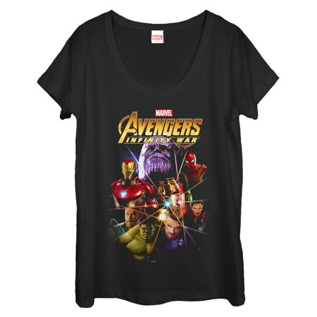 Marvel Women's Avengers: Infinity War Prism Scoop Neck - Women Avengers