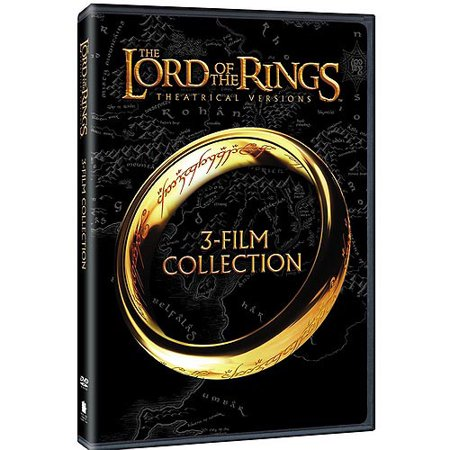 The Lord Of The Rings 3 Film Collection  Theatrical Versions   Widescreen