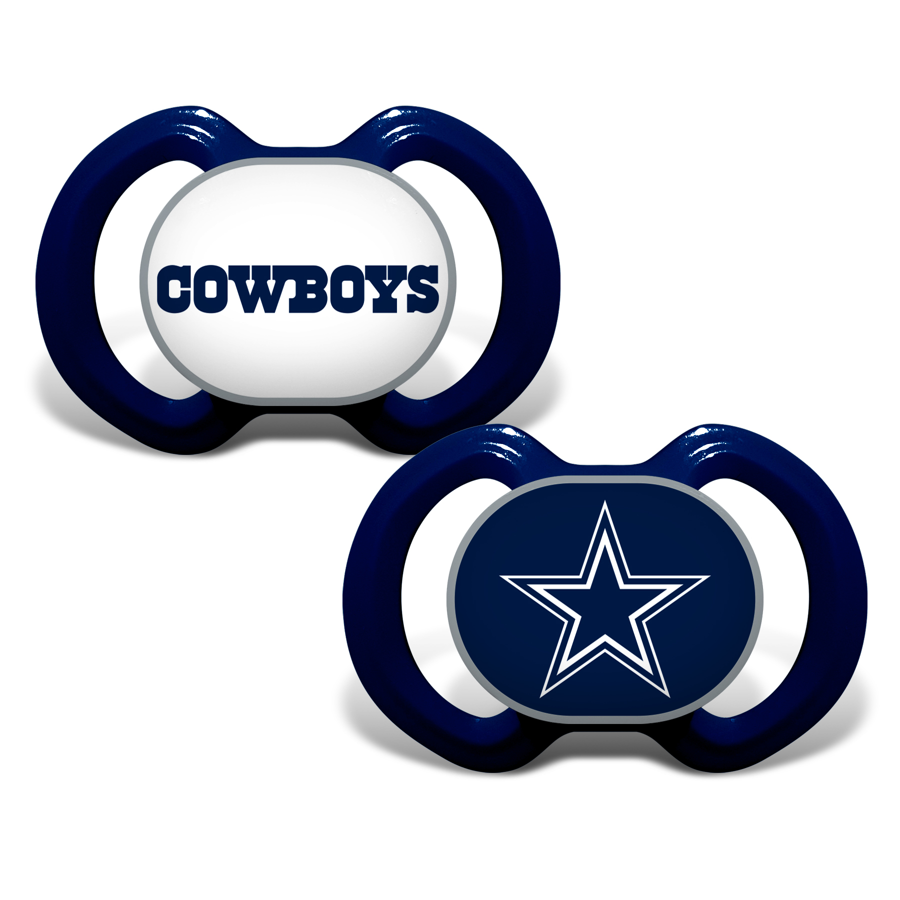 NFL Dallas Cowboys 2-Pack Pacifiers