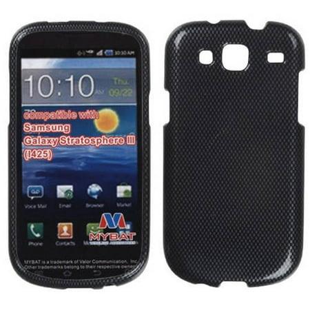 425 Carbon Fiber - Samsung i425 Galaxy Stratosphere III MyBat Protector Case, Carbon Fiber