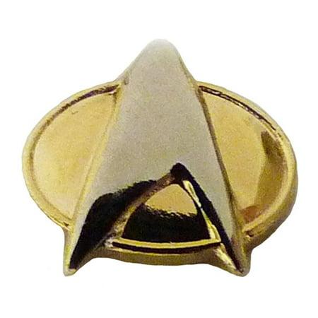 Star Stick Pin - Star Trek Insignia Command Badge Pin