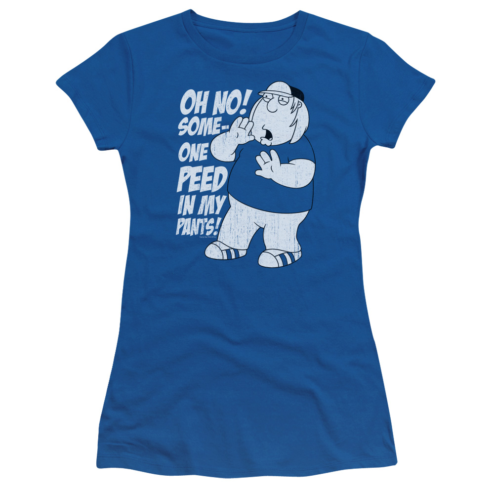 Family Guy In My Pants Short Sleeve Shirt Juniors Sheer