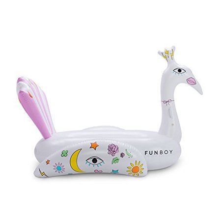 FUNBOY Giant Inflatable Pool Float (Peacock) - image 2 de 3