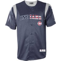 2d1ac8f8e Product Image MLB Cleveland Indians Men s Americana Button Down Jersey