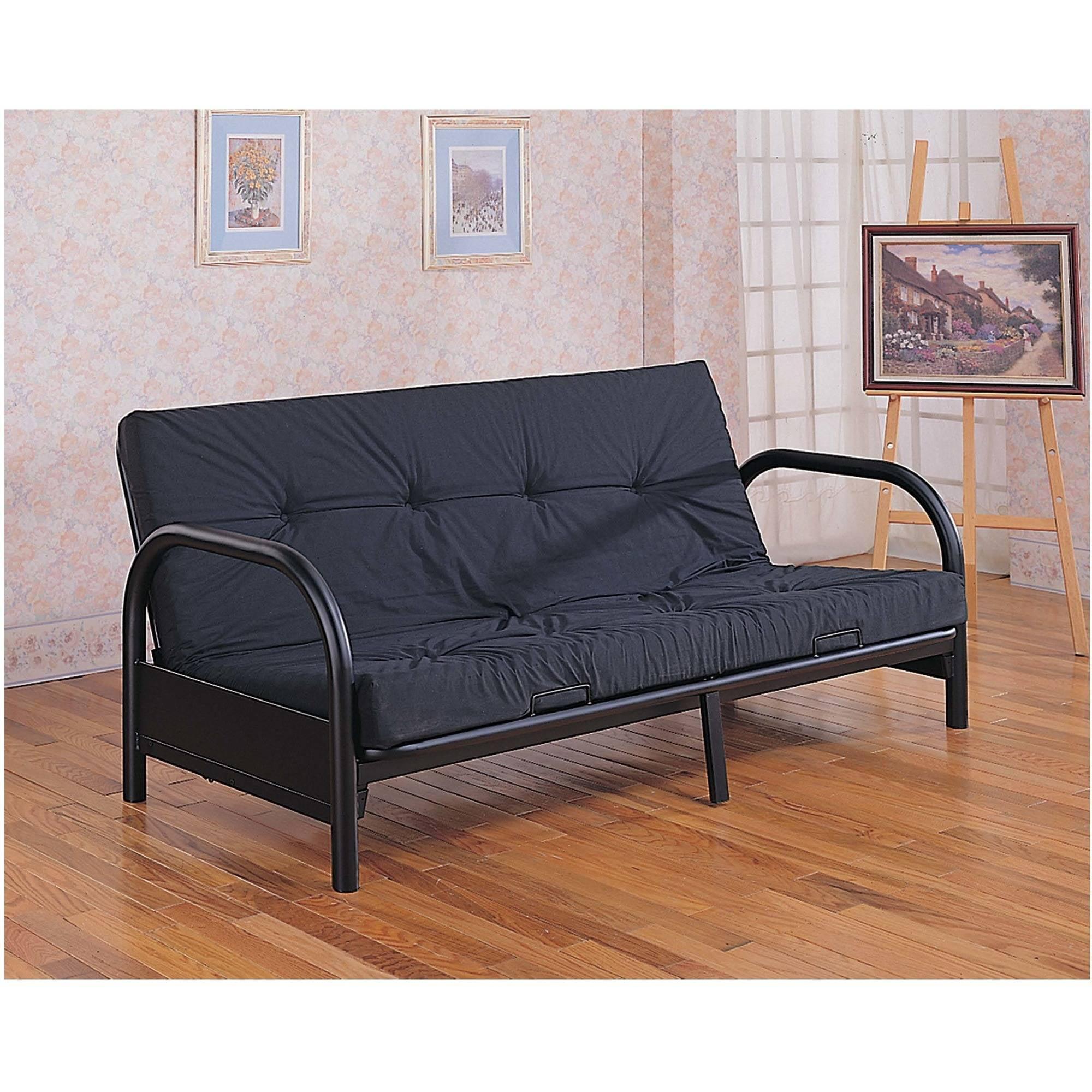 Coaster Company Futon Frame Seat Bed, Black by Coaster Company