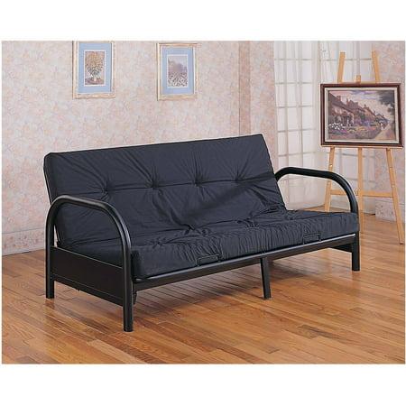 Coaster Company Futon Frame Seat/Bed, Black