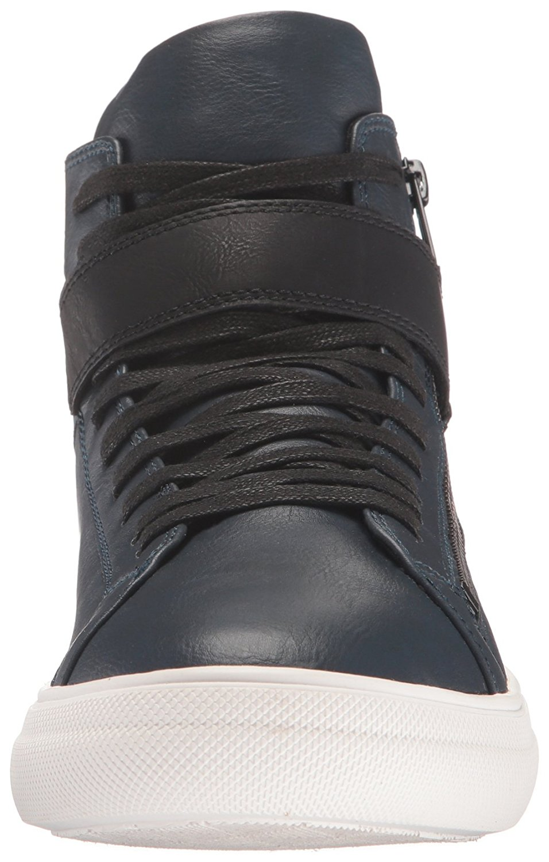 ALDO Men's Maureo Fashion Sneaker, Navy, Size 7.5