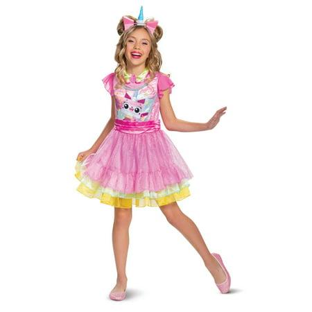 Halloween Lego Movie 2: Unikitty Deluxe Child Costume