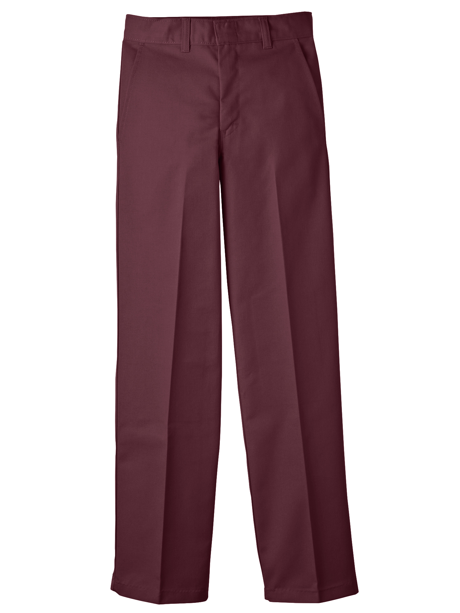 Boys' Uniform Classic Fit Straight Leg Flat Front Pants (Little Boys)