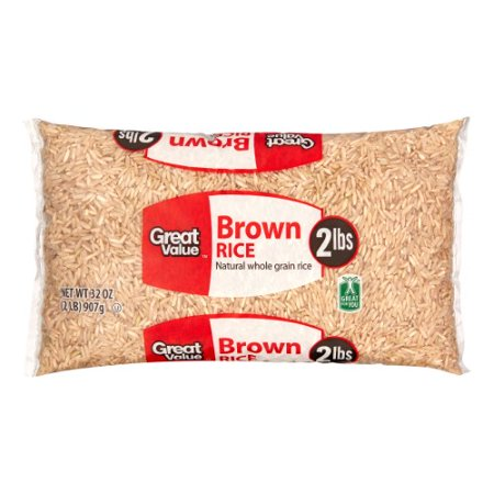 Great Value Brown Rice  32 Oz