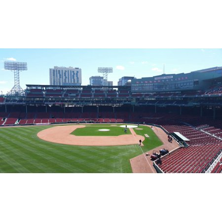 Canvas Print Green Monster Seats Fenway Park Baseball Stretched Canvas 10 x 14
