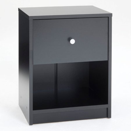 Tvilum Studio Furniture Collection 1 Drawer Nightstand, Multiple Colors ()