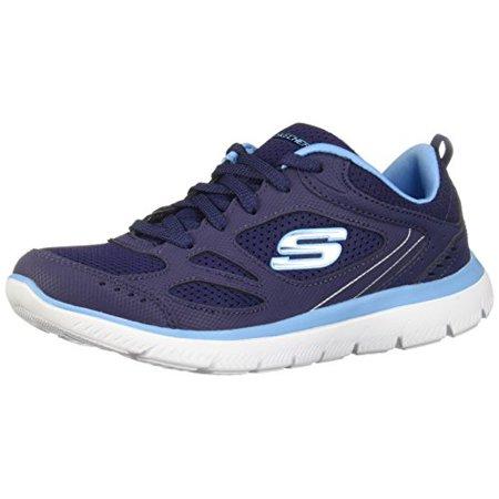 Skechers Summits Suited Womens Sneakers Navy/Blue