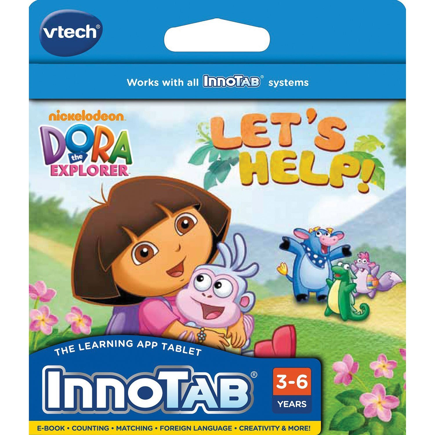 Dora the Explorer: Let's Help By VTech by