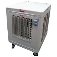 Dayton Portable Evaporative Cooler, 3800/2376cfm - 6RJZ3