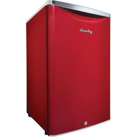Danby 4.4 cu ft Contemporary Classic Scarlett Metallic Red Compact All Refrigerator