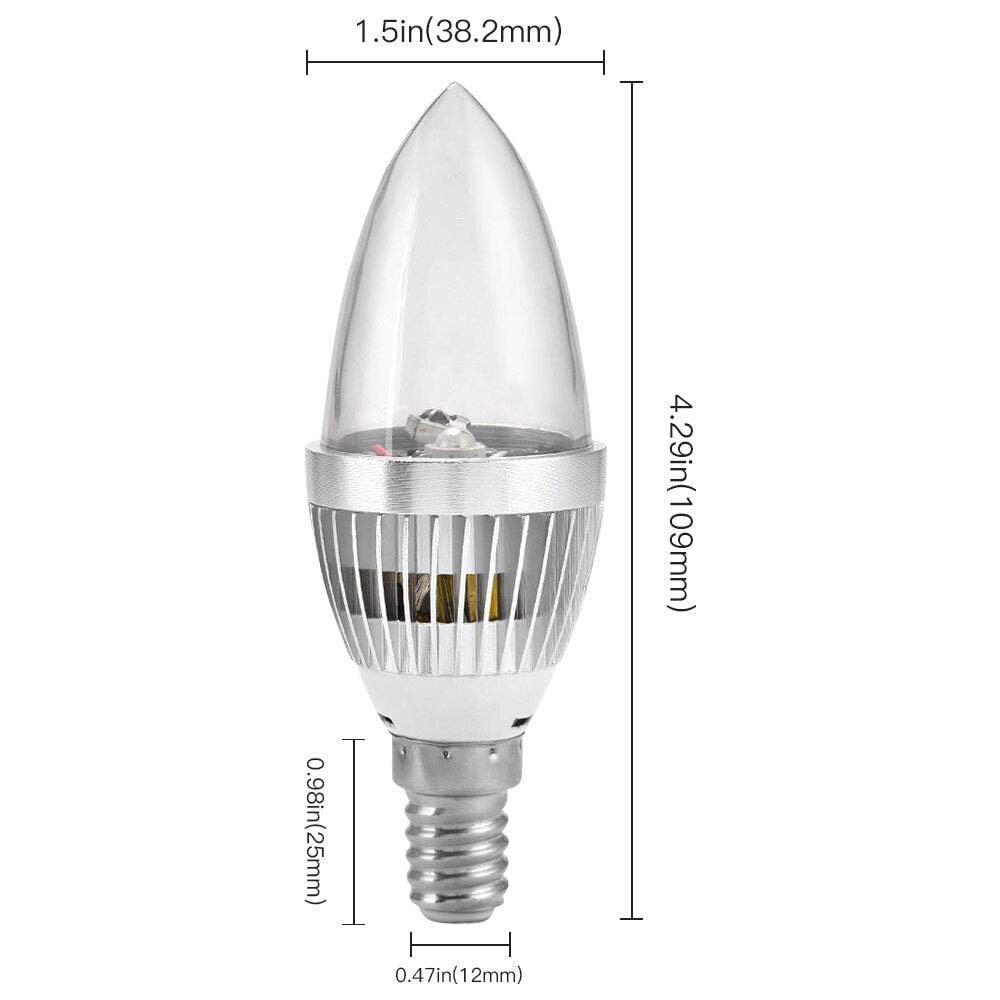 Remote Control E7E1 B22 3W 16 Colors Changing RGB LED Moodot Light Lamp Bulb