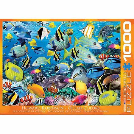 Eurographics Colour Reef 1000 Piece Puzzle