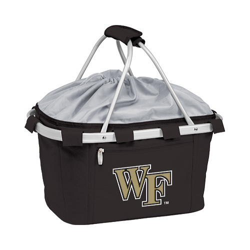Picnic Time Metro Basket Wake Forest Demon Deacons Print