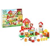 LeapFrog LeapBuilders Food Fun Family Farm Learning Blocks Toy for Kids