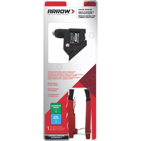Arrow Fastener Pro Swivel Head Rivet Tool