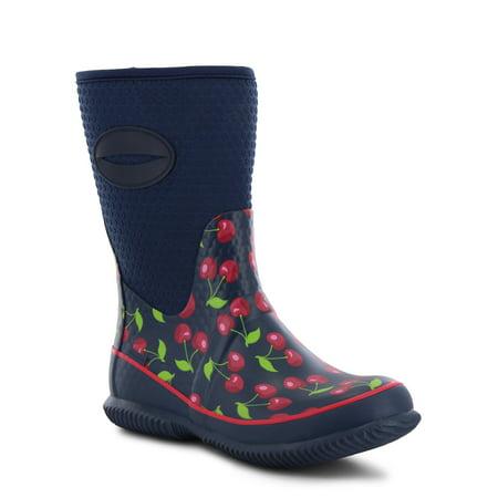Western Chief Women's Retro Cherry Neoprene Mid Boot for $<!---->
