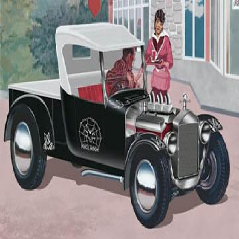 Revell 1:24 Black Widow Ford Model T Pickup Rod by