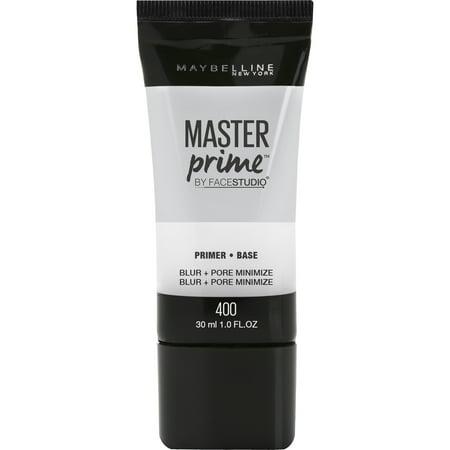Maybelline Facestudio Master Prime Primer, Blur + Pore (Dior Pore Minimizer Skin Refining Matte Primer)