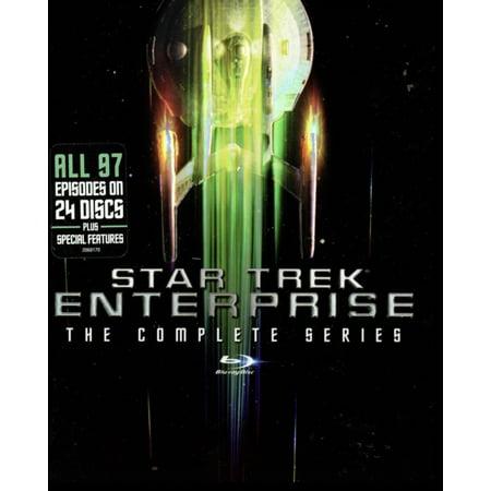 Star Trek Enterprise: The Complete Series (Star Trek Original Series Blu Ray Comparison)