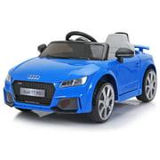 Tobbi 12V Kids Ride on Audi TT RS Car W/ MP3 Electric Battery Power RC Remote Control, Blue