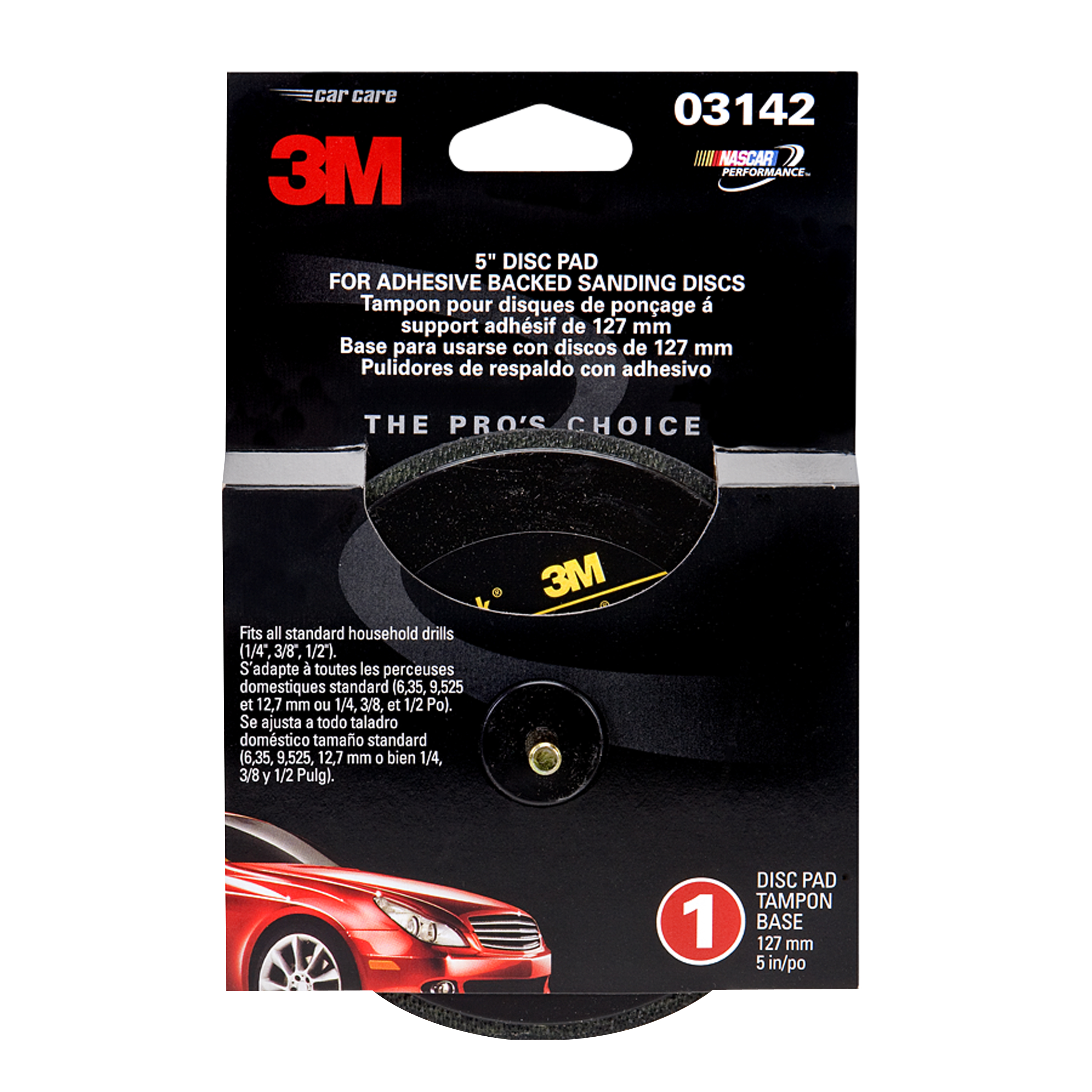 3M Adhesive Backed Disc Pad