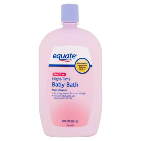 equate Tear nuit gratuite temps de bain pour bébés, 28 fl oz