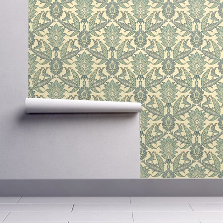 Wallpaper Roll Islamic Persian Abstract Floral Florid Ornate 24in x