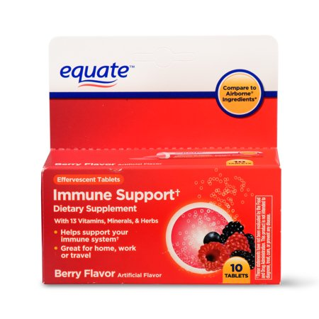 Equate Immune Support Dietary Supplement, Berry, 10 Count Immune Support Wellness Oil