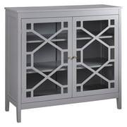 Linon Home Fetti Large Accent Cabinet, Multiple Colors