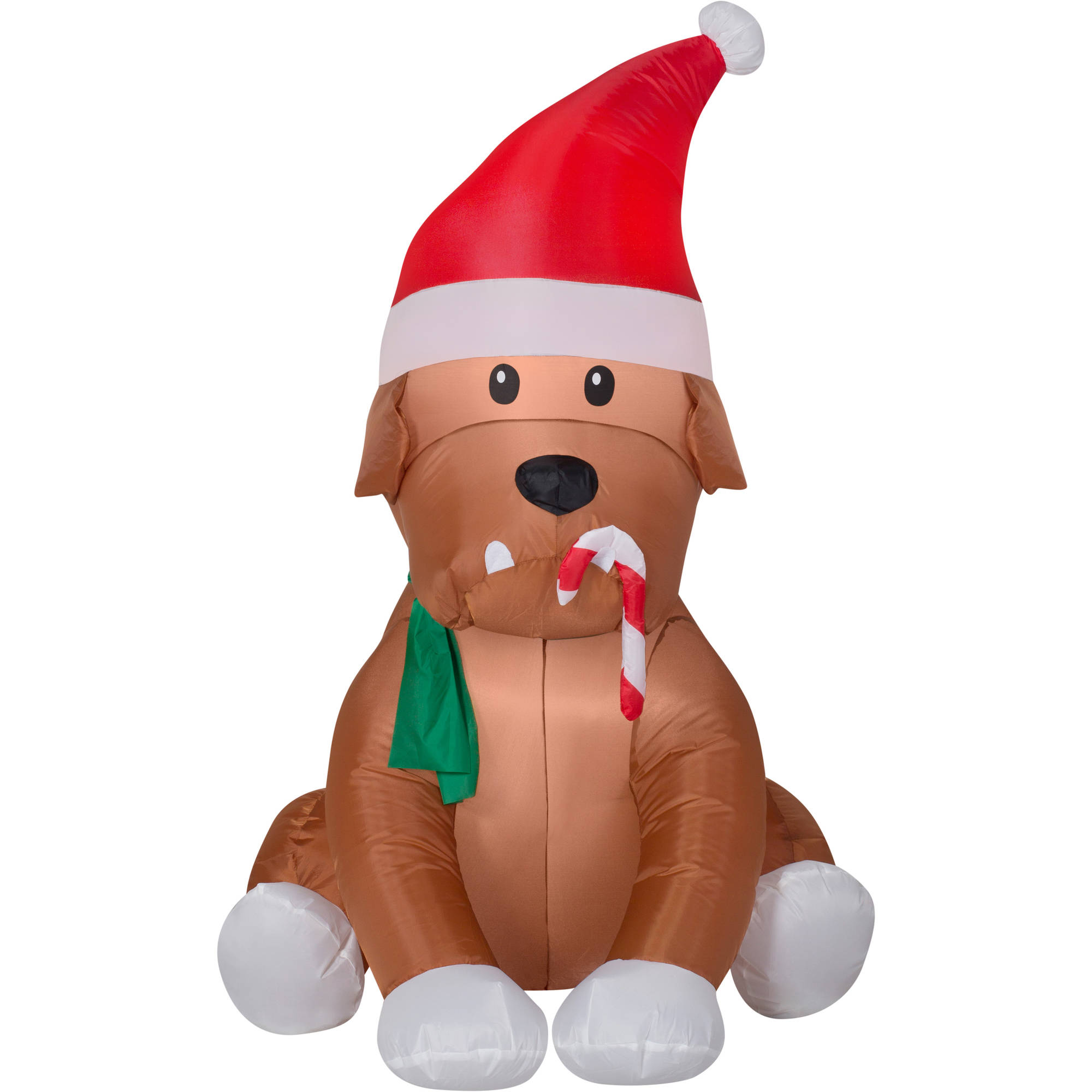 Gemmy Airblown Christmas Inflatables English Bulldog, 4' - Walmart.com