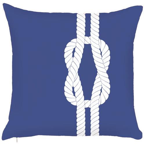 Debage Inc. Costal Sailor's Knots Hook Throw Pillow