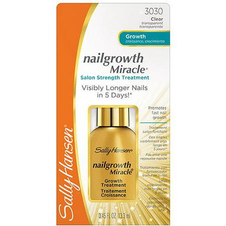 Sally Hansen Nail Growth Miracle Salon Strength Treatment - Walmart.com