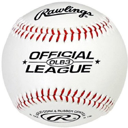 Rawlings Baseball Official League 9 In. Solid Cork - Mini Baseballs In Bulk