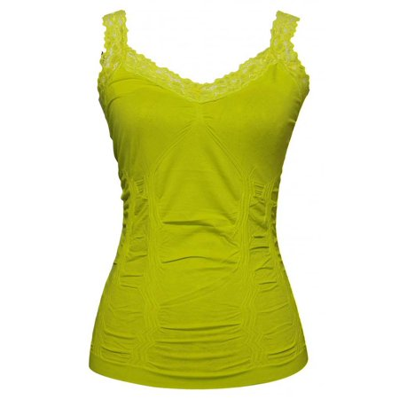 Womens Lace Trim Camisoles (Free Size - Various Colors)