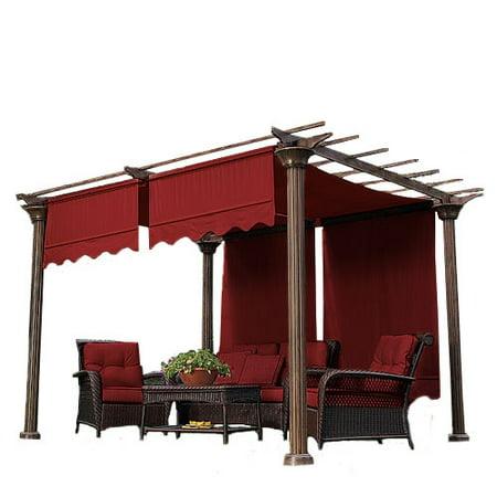 Garden Winds Universal Designer Replacement Pergola Shade Canopy II -