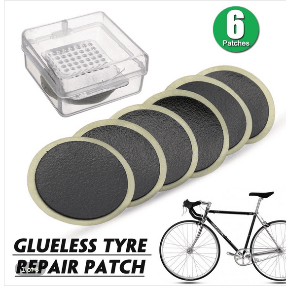 Bicycle Tire Patch Bike Tire Tyre Inner Tube Puncture Rubber Patch 6A