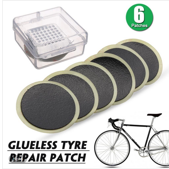 Rubber Puncture Patches Bike Bicycle Cycle Tire Tyre Inner Tube Repair Patch Kit
