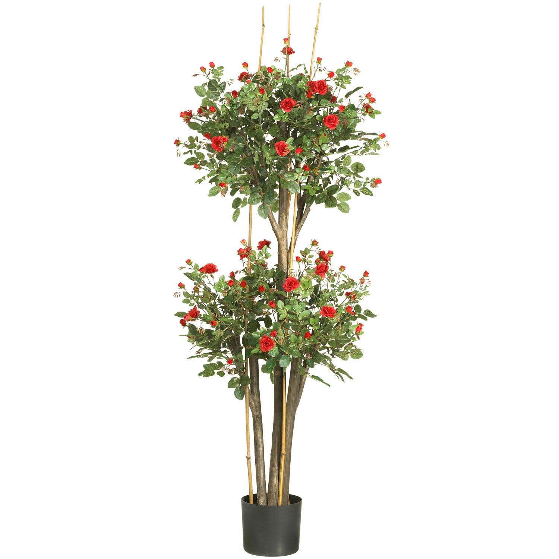 5ft Mini Rose Silk Tree