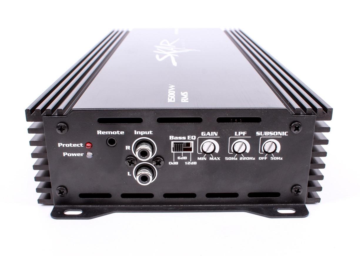 Skar Audio RP-1500.1D Monoblock 1500-Watt Class D MOSFET Subwoofer ...