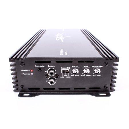 Skar Audio Monoblock Amplifier Wiring Diagram on